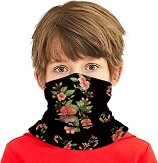 Simayixx Kids UV Protection Face Cover Neck Gaiter for Dust Summer Cycling Hiking Sport Outdoor Seamless Bandana