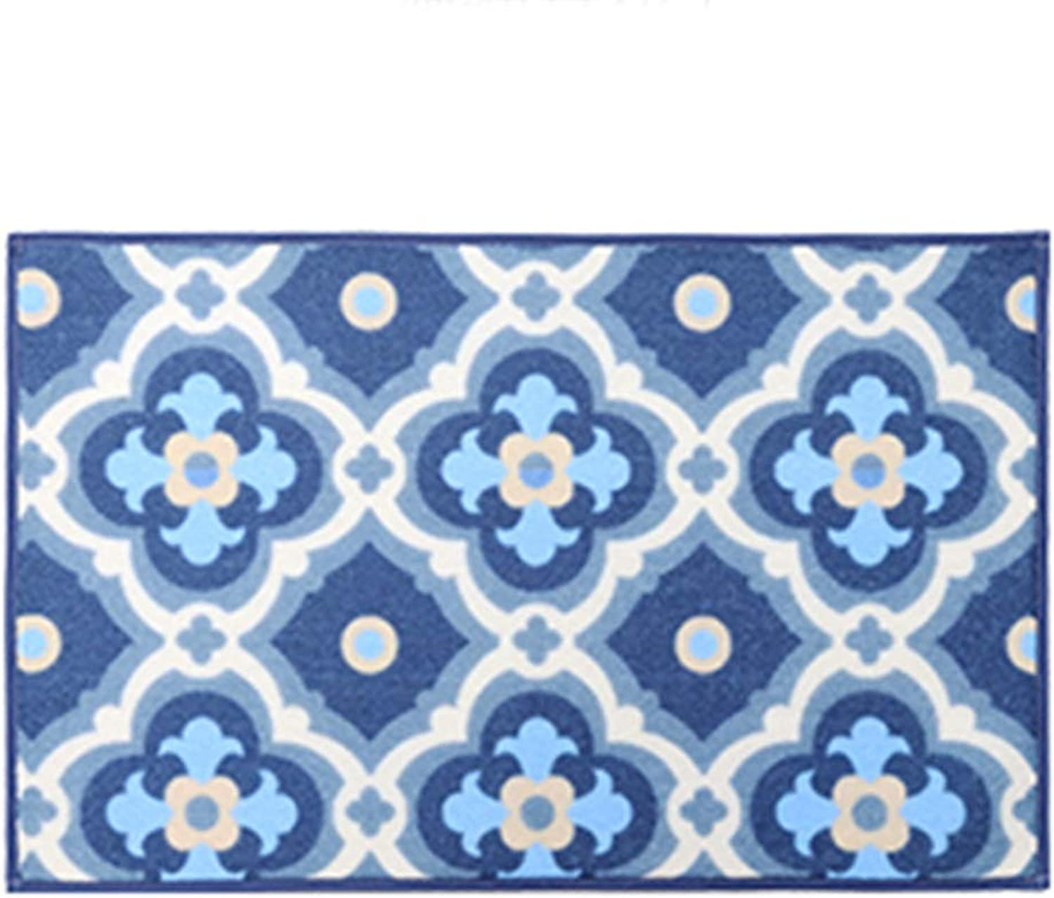 Door mat Floor mat - Nylon fabric, absorbent and non-slip, easy to clean, geometric pattern, kitchen floor mats door mats home bedroom mat bathroom mat bathroom absorbent carpet - 3 sizes, 3 styles av