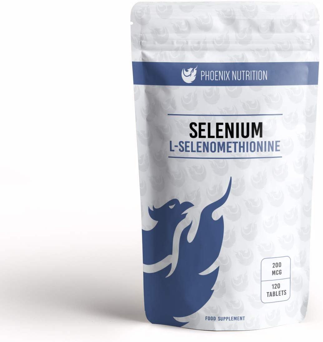 Selenium 200mcg San Diego Mall x 120 Tablets Chelated famous Bioavailable - Selenometh