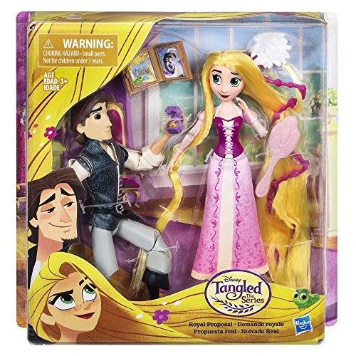 Disney- Principesse Rapunzel ed Eugene, Multicolore, HA-C1750