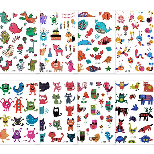 Top temporary tattoos kids animals for 2020