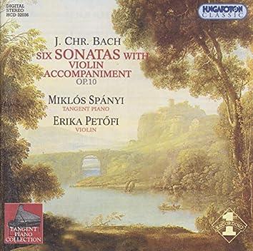 Bach, J.C.: 6 Keyboard Sonatas With Violin Accompaniment, Op. 10