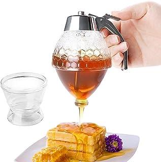 Runy - Bote dispensador de Goteo de Miel para Zumo o Jarabe de Cocina, Accesorios de Cocina, Soporte para ollas