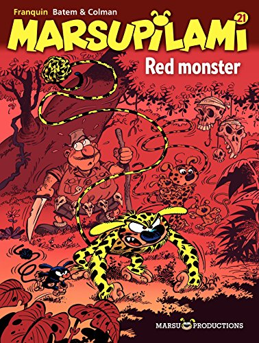 Marsupilami – tome 21 - Red monster (French Edition)