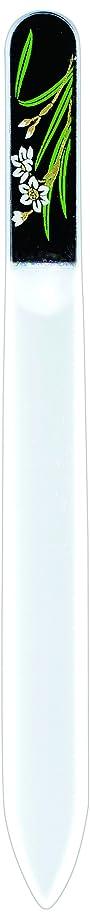 したがってトランスペアレント橋本漆芸 ブラジェク製高級爪ヤスリ 一月 水仙 OPP