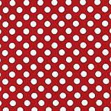 Stoff mit Punkten – 0,5 Meter (50 cm x 110 cm) – Punkte