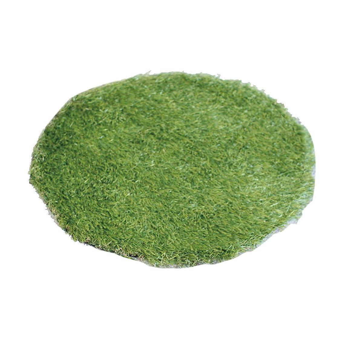 優しさ地平線許すSPICE OF LIFE 人工芝 フェイクグラスマット 円 ラウンド Sサイズ 直径45cm 芝生マット SGDS2031