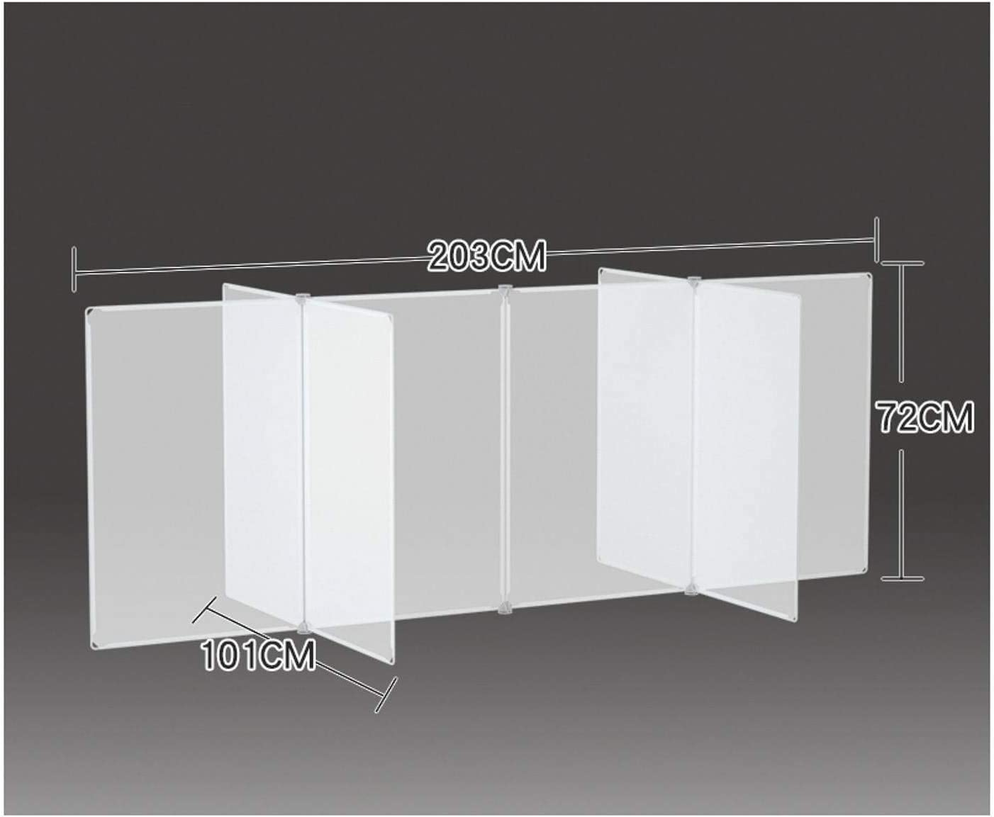 Selling and selling free shipping Sneeze Guard Panel for Student Reception Desk Sh Protective