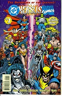 DC Versus Marvel #1 : Round One (DC - Marvel Comics)