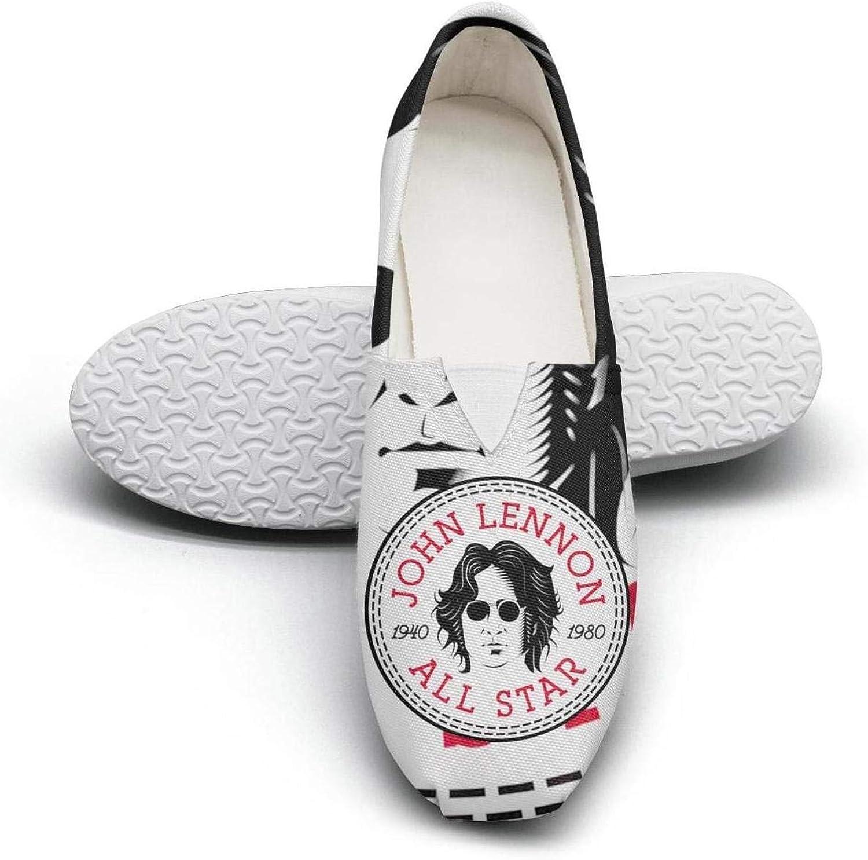 Uter ewjrt Beautiful Women John-Lennon-Sunglasses- Non-Slip Athletic Running shoes Canvas Training Sneaker