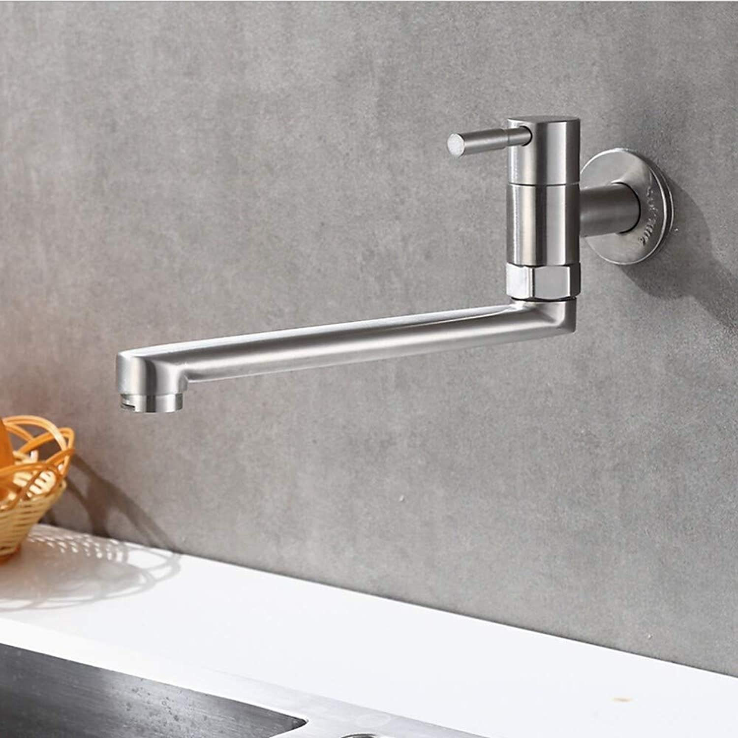 Wghz Kitchen Faucet - Single Lever Mixer Stainless Steel Spout Modern Kitchen Faucets  Electroplate