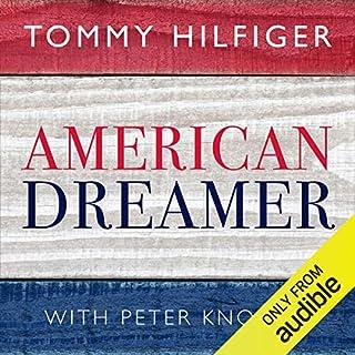 American Dreamer audiobook cover art
