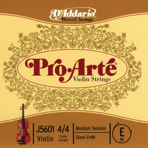 D'Addario Orchestral Pro-Arté - escala 4/4, tensión dura