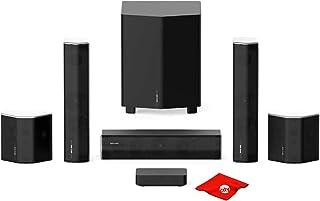 Enclave CineHome II CineHub Edition True Wireless 5.1 Home Theater Sistema de sonido envolvente de 24 bits Dolby Audio & D...