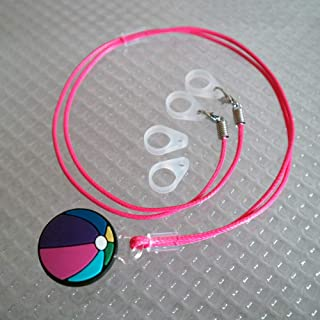 BTE Hearing Aids Protection & Security Clip Anti-Lost Cord Portable Hang Rope(Colorful) (Ball 3)