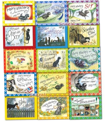 Hairy Maclary & Friend Collection Lynley Dodd 15 Books Set Pack Slinky Malinki Series