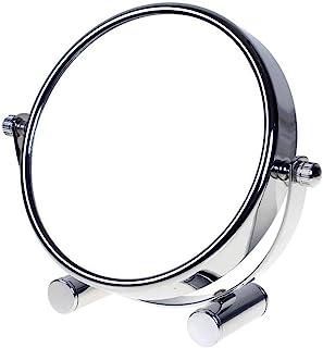 TUKA Miroir Maquillage Grossissement x10, 6 inch Compact Miroir Cosmétique sur Pied,..
