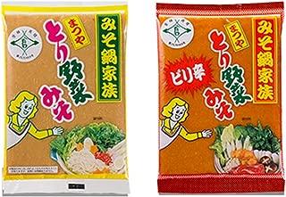 まつやとり野菜みそ おためし2袋セット(レギュラー200g + ピリ辛 200g)