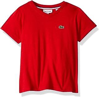 Lacoste Boys' V-Neck Cotton T-Shirt
