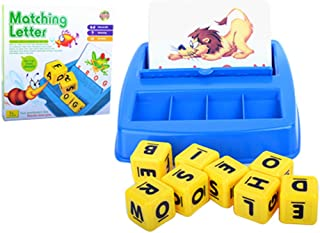 Flameer Letters Spelling Bingo Card Game Board Game Toy- Basic Letter Matching Skill