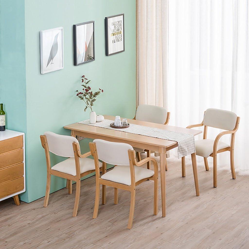 MXXYZ Chaise Pliante Chaises empilables Chaise de Salon Chaise en Bois Chaise d'étude Confortable Chaise de Loisirs Café (Color : A12) A11
