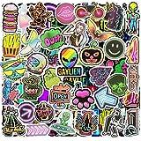 Jackify Paquete de Pegatinas [53-Pcs], Graffiti Stickers para Niños, Automóviles, Portátiles, Motocicletas, Bicicletas, Monopatines, Etiquetas de Parachoques