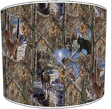 Premier Lighting 10 inch Hunting Scene abat-jour13 pour Une Lampe de Table