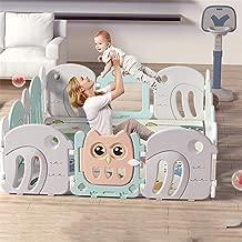 WDMC Bebé Jugar Astilleros Seguridad Juego Baby Center Parque Infantil Inicio Pluma Material del HDPE Y BPA Bebé Libre Valla Infantil De Juegos Al Aire Libre De Interior