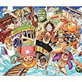 Fabulous Poster Affiche One Piece Equipage Anime Crew(36x42cmB)