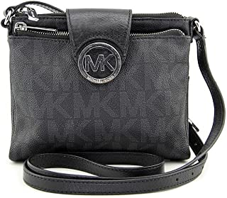 Michael Michael Kors Signature Fulton Large Cross-body Bag
