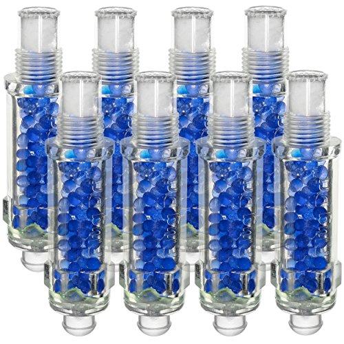 Plug-Dri 14mm Dehumidifier Desiccant Silica Gel Spark Plug for Engine Storage, Set of 8