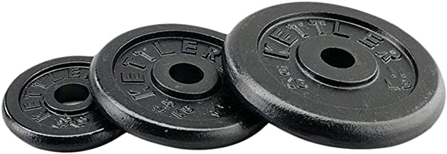 Kettler Ktlr7476-300 20 Kg Weight Disks, Black