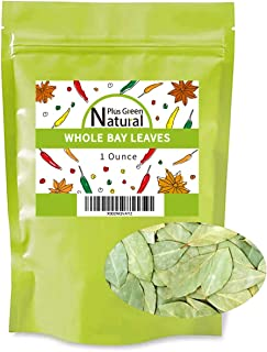 Premium Dried Bay leaves Whole 1 Oz, Whole Bay Leaf Dried, Natural Gluten Free Raw Non-irradiated & Non-GMO, Bay Laurel Le...
