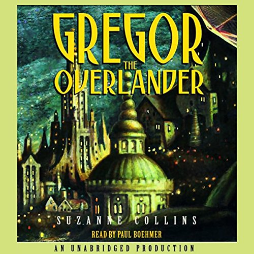 Gregor the Overlander audiobook cover art