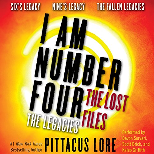 I Am Number Four: The Lost Files: The Legacies audiobook cover art