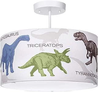 Dinosaur Light Fixture, 3-Light