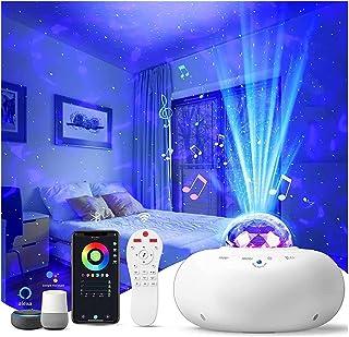 star projector ضوء الليل للأطفال، جالاكسي أضواء الليل العارض لغرفة النوم، تطبيق مراقبة ستار ستار ليلة ضوء العارض، حضانة ال...