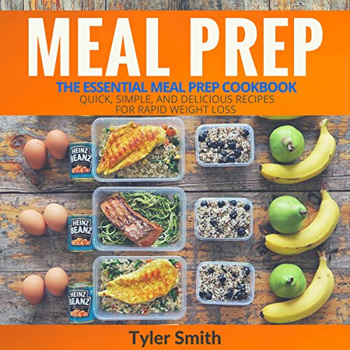 Meal Prep: The Essential Meal Prep Cookbook audiobook cover art