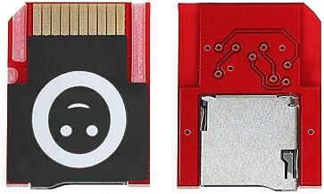 iKNOWTECH Adaptador Micro SD Controlador SD2VITA PSVSD Adaptador de Tarjeta de Transferencia de Memoria para PS Vita Henkaku 3.60 Tarjeta de Memoria para Juegos (Rojo, Firmware 3.60)