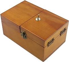 جعبه چوبی Willcomes تبدیل می شود بی فایده جعبه من را ترک جعبه تنها دستگاه دائمی برای هدایای تبلیغاتی و یا اسباب بازی میز
