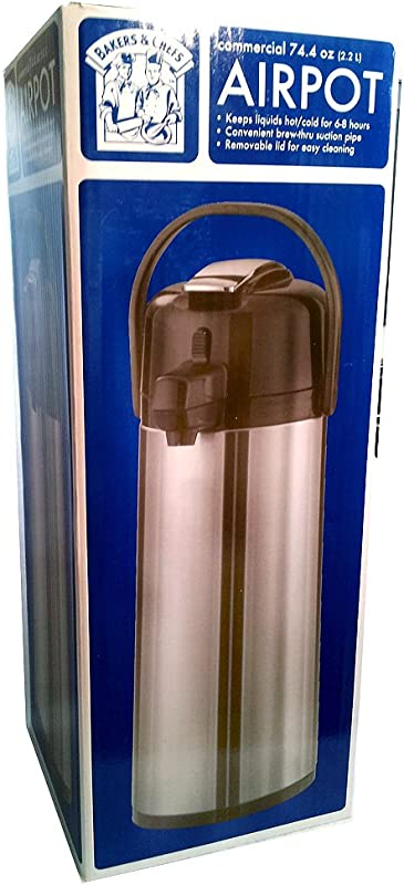 Bakers Chefs Commercial Airpot 74 4 Oz