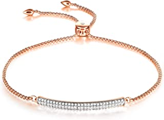 Jenny-BaBy Stainless Steel Birth Stone Bangle Bracelet Open-size Adjustable December