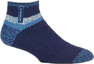 HEAT HOLDERS - Mens Warm Luxury Fluffy Fleece Lined Lounge Sleep Bed Socks