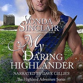 My Daring Highlander audiobook cover art