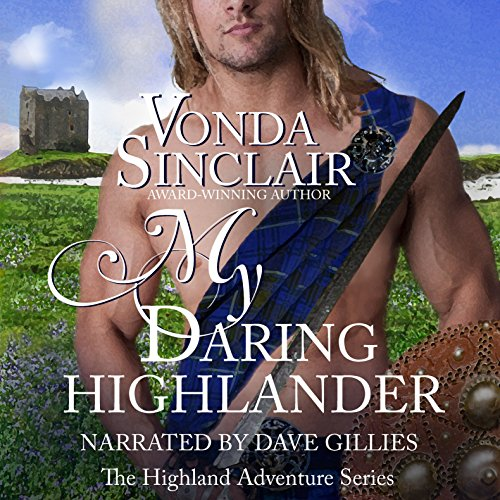 My Daring Highlander audiobook cover art