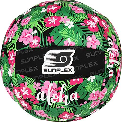 Sunflex Neopren Zubehör Beach und Funball Tropical Flower Größe 5   Volleyball weich und leicht für den Strand und das Wasser   extrem robust und für jede Altersgruppe