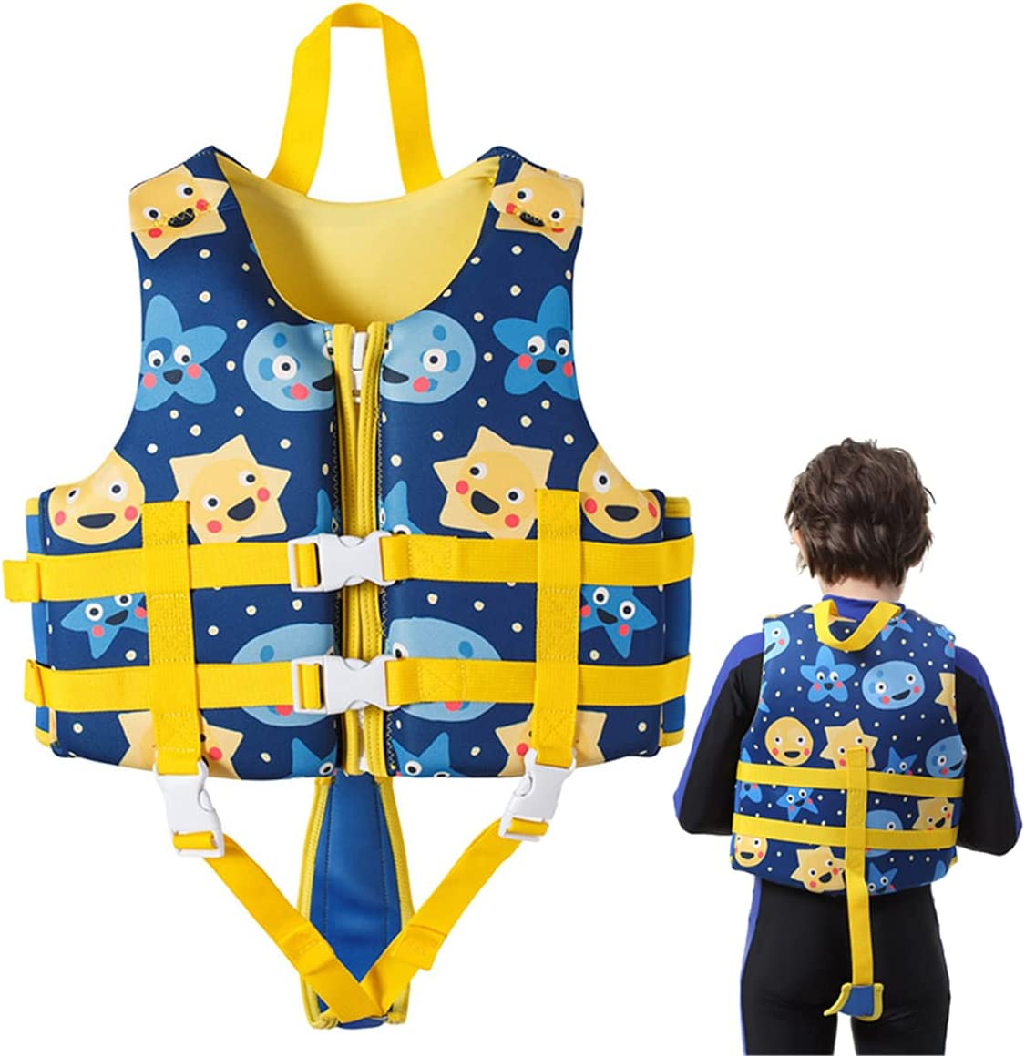 HWZZ Kids Swim Vest Save Max 65% OFF money Jackets Swimming Children Neoprene