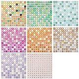 Encimera y organización de la pared Encimera Encimera Mostrador Autoadhesivo 3D Azulejo Etiqueta de la pared Etiqueta DIY Cocina Baño Decoración para el hogar Papel tapiz(yjc0015)