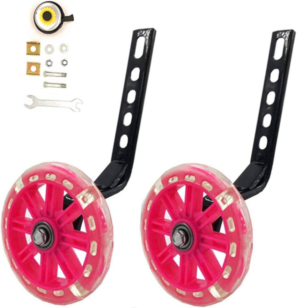 YJIA a Pair Phoenix Mall of Children's Bicycle Silent Training Flash Bombing free shipping Riding W