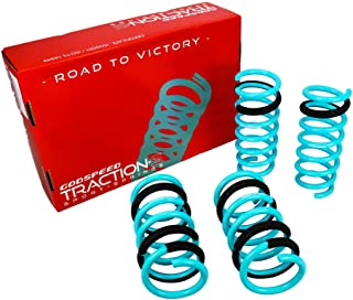 Godspeed LS-TS-II-0001-A Traction-S Performance Lowering Springs, Reduce Body Roll, Improved Handling, Set of 4